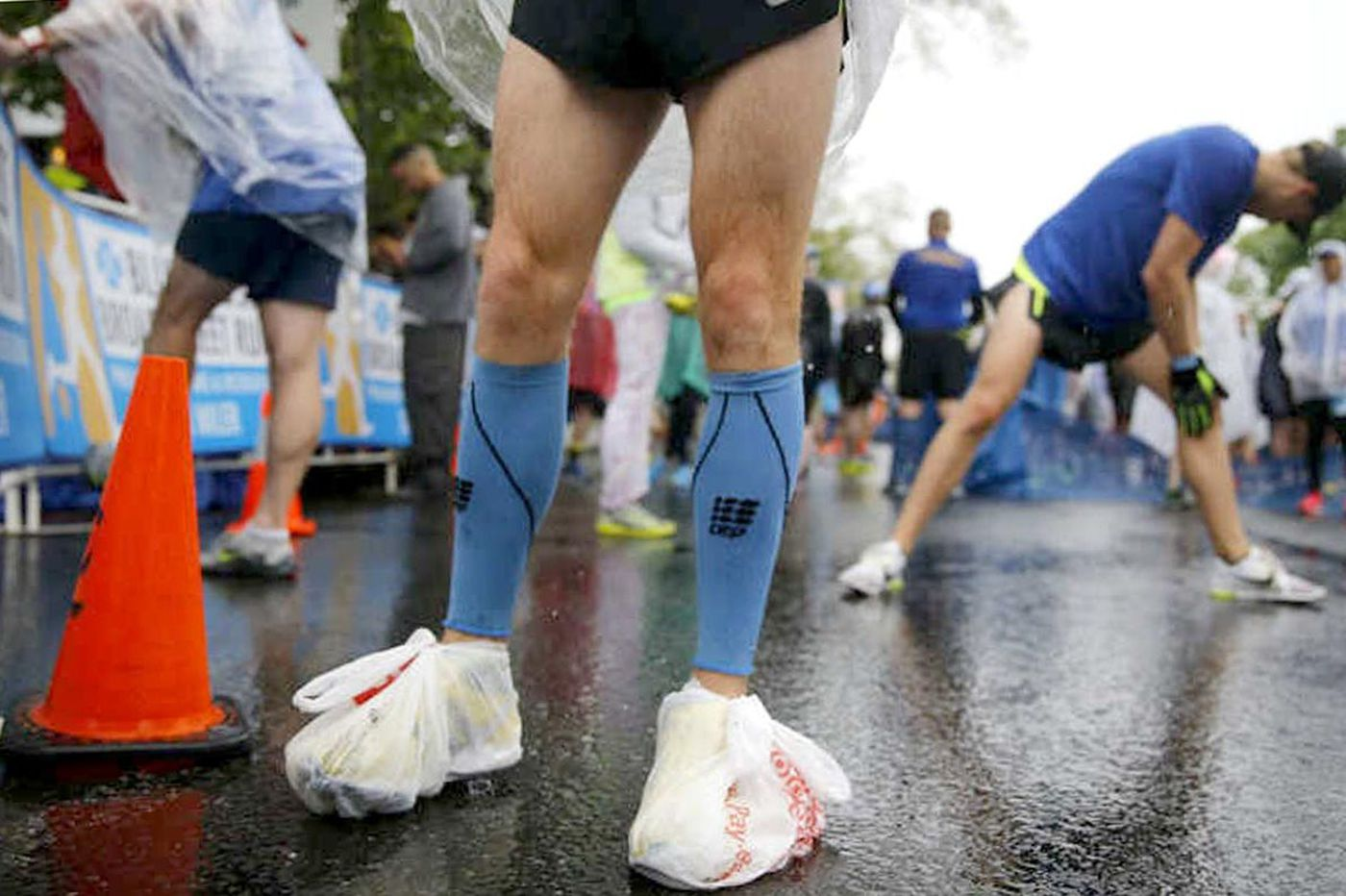 Do athletes really need compression socks and tights to boost performance?