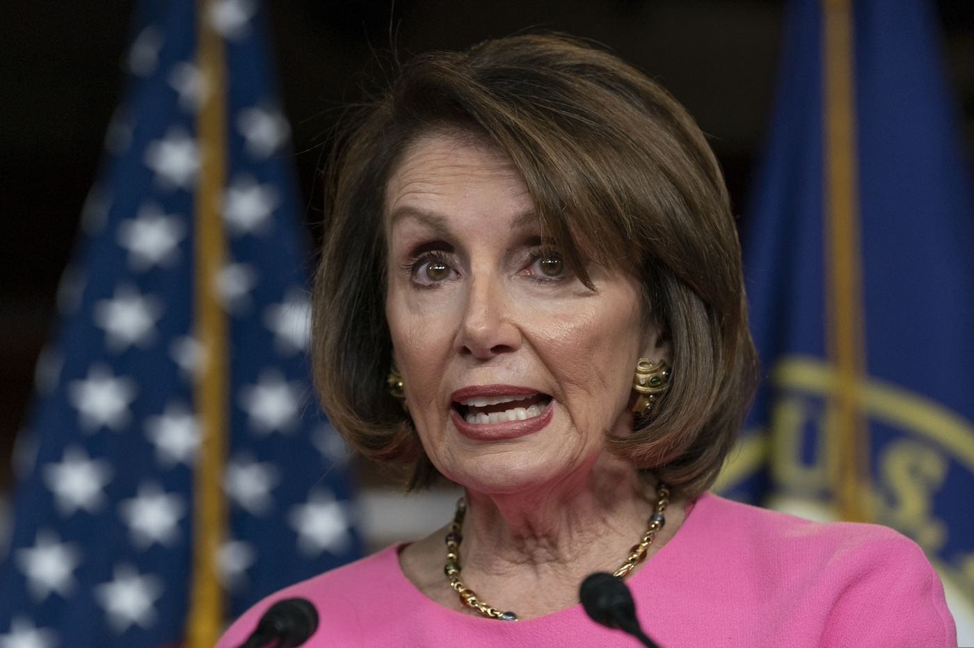 Altered video makes Pelosi seem to slur words