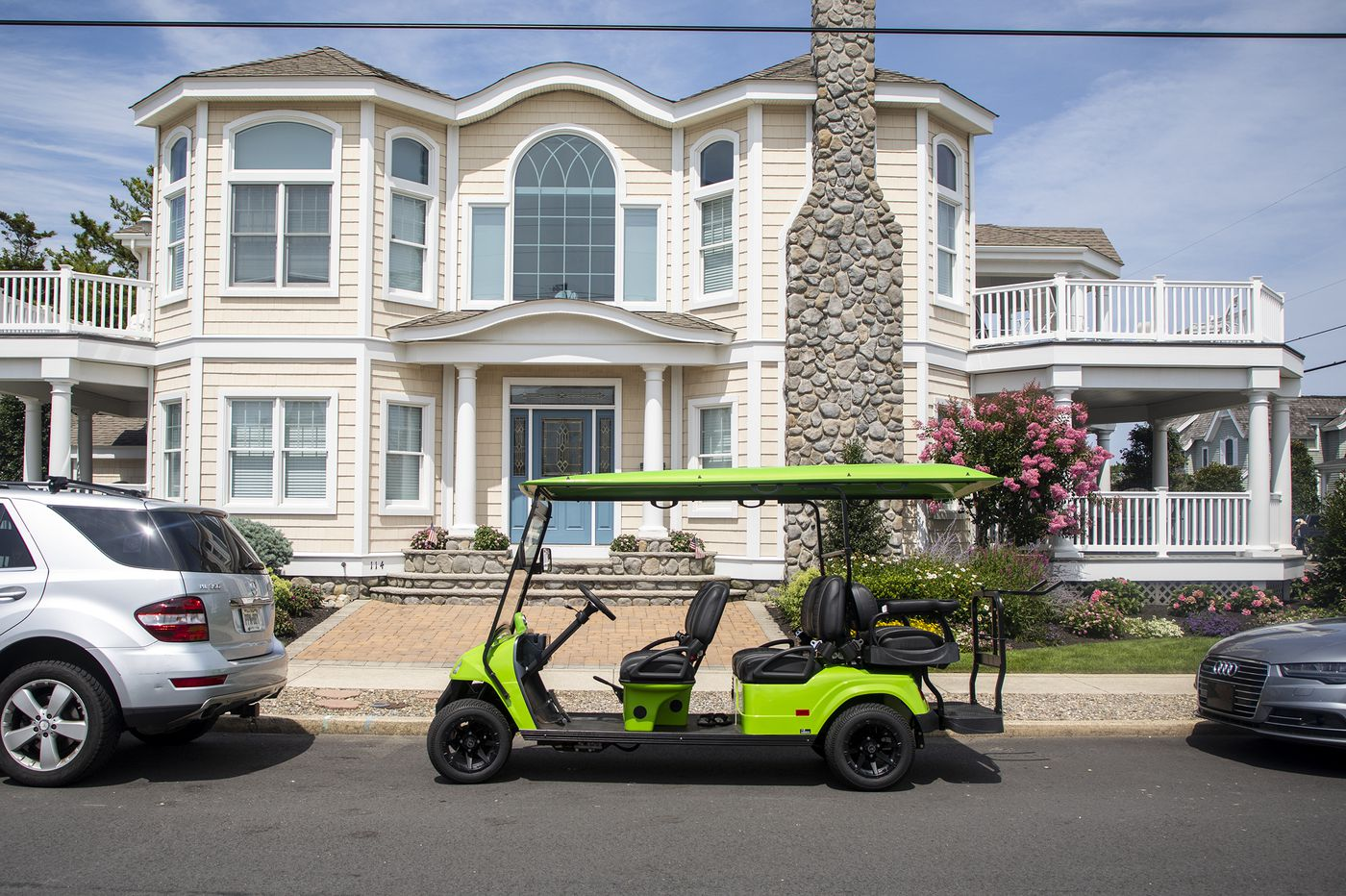 Don't call it a golf cart: Down the Shore, 'the cool, new toy' is a low-speed electric vehicle