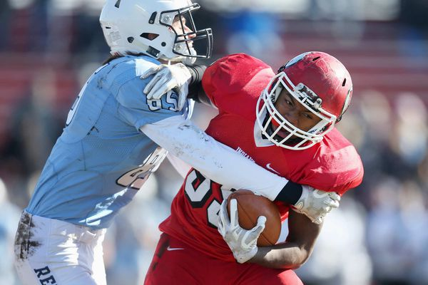 Lenape football speedster Xavier Coleman is scoring touchdowns every which way