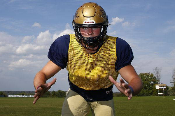 Dillon Trainer leads way for La Salle football
