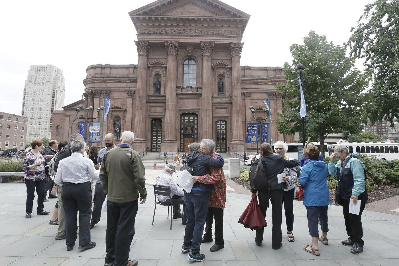 Catholics seeking reform gather to pray, decry grand jury sex-abuse report