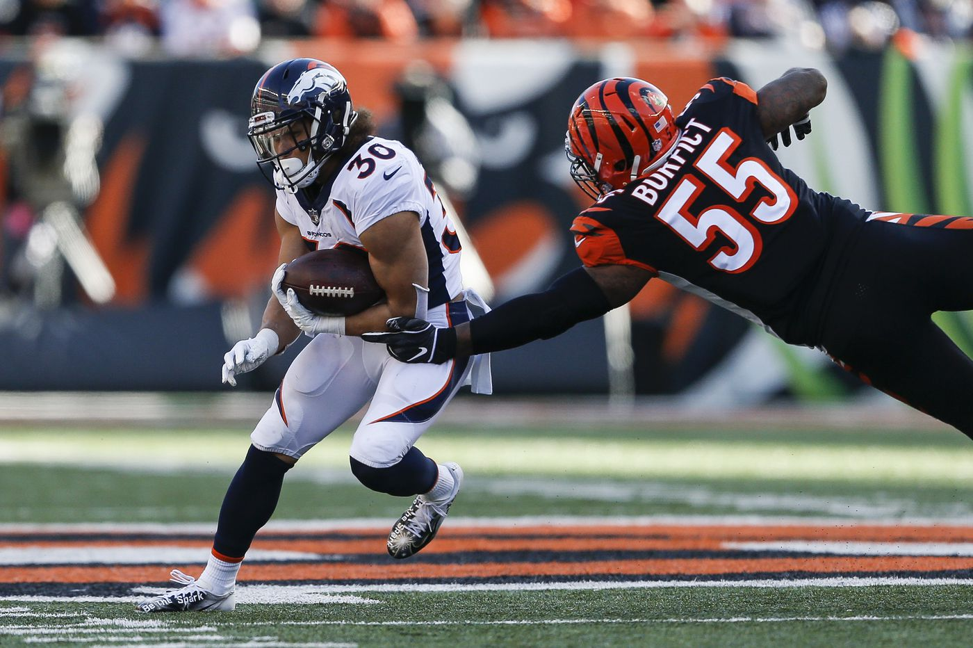 NFL Week 13 review: Winners (Phillip Lindsay), losers (the Packers) and thanks for nothing, David Johnson