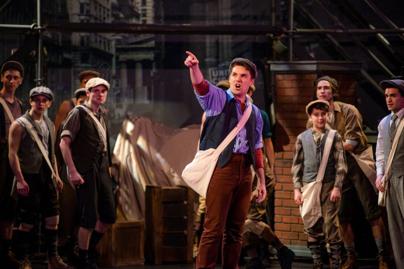 'Newsies' at Media Theatre teems with energy