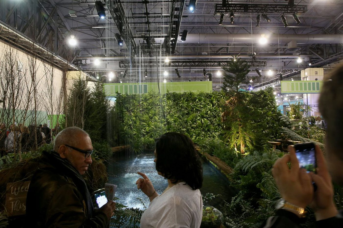 The antidote to a nor'easter: The Philadelphia Flower Show