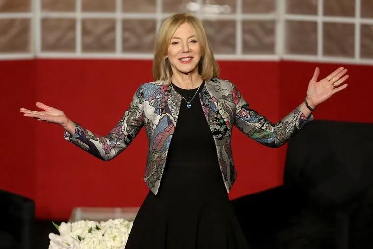 University of Pennsylvania president Amy Gutmann