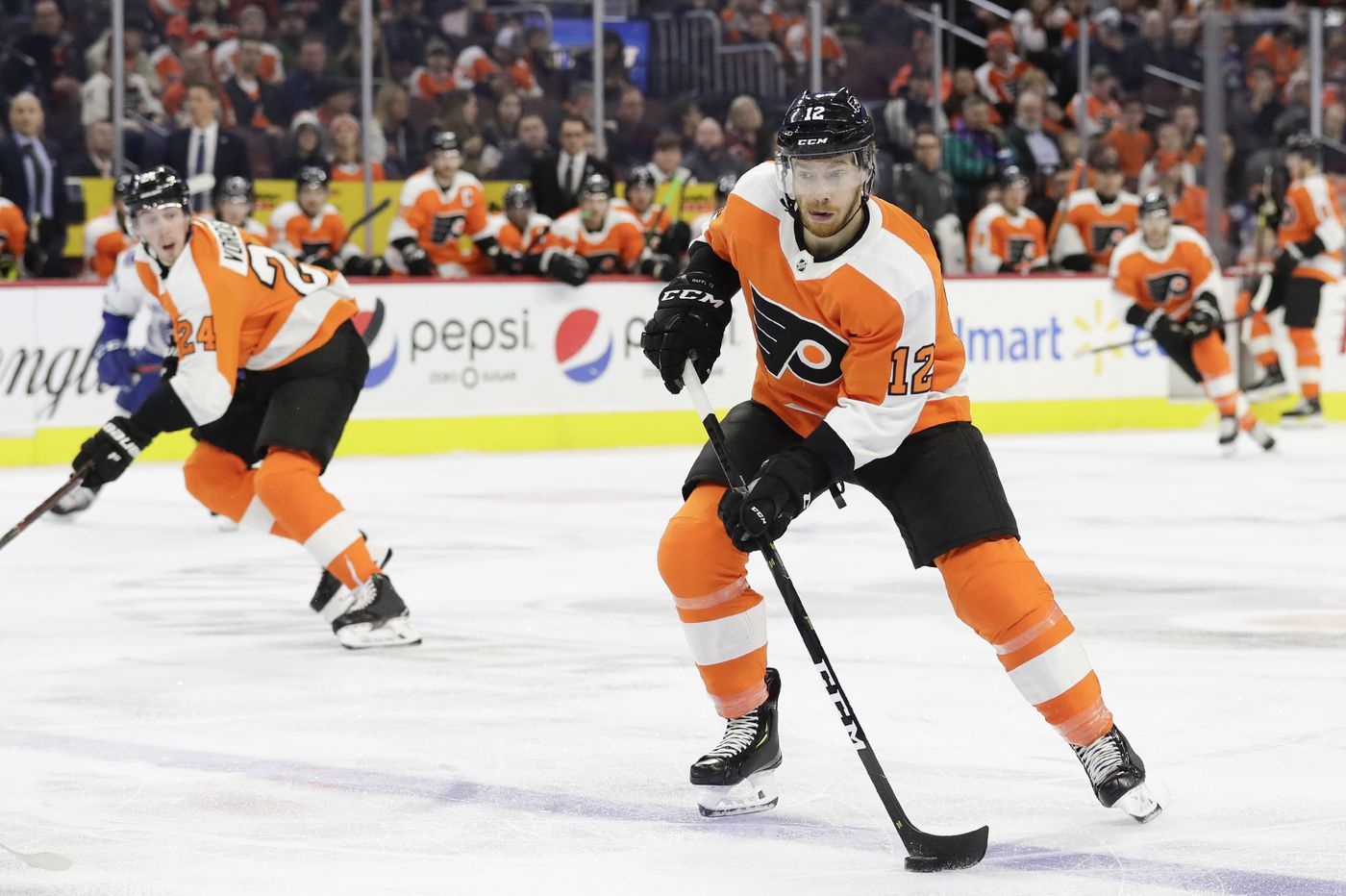 With trade deadline behind him, versatile Michael Raffl breathes sigh of relief