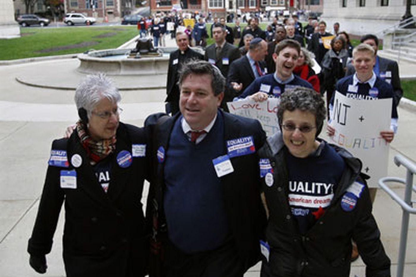 Same-sex marriage proponent's fervor backfires, some say