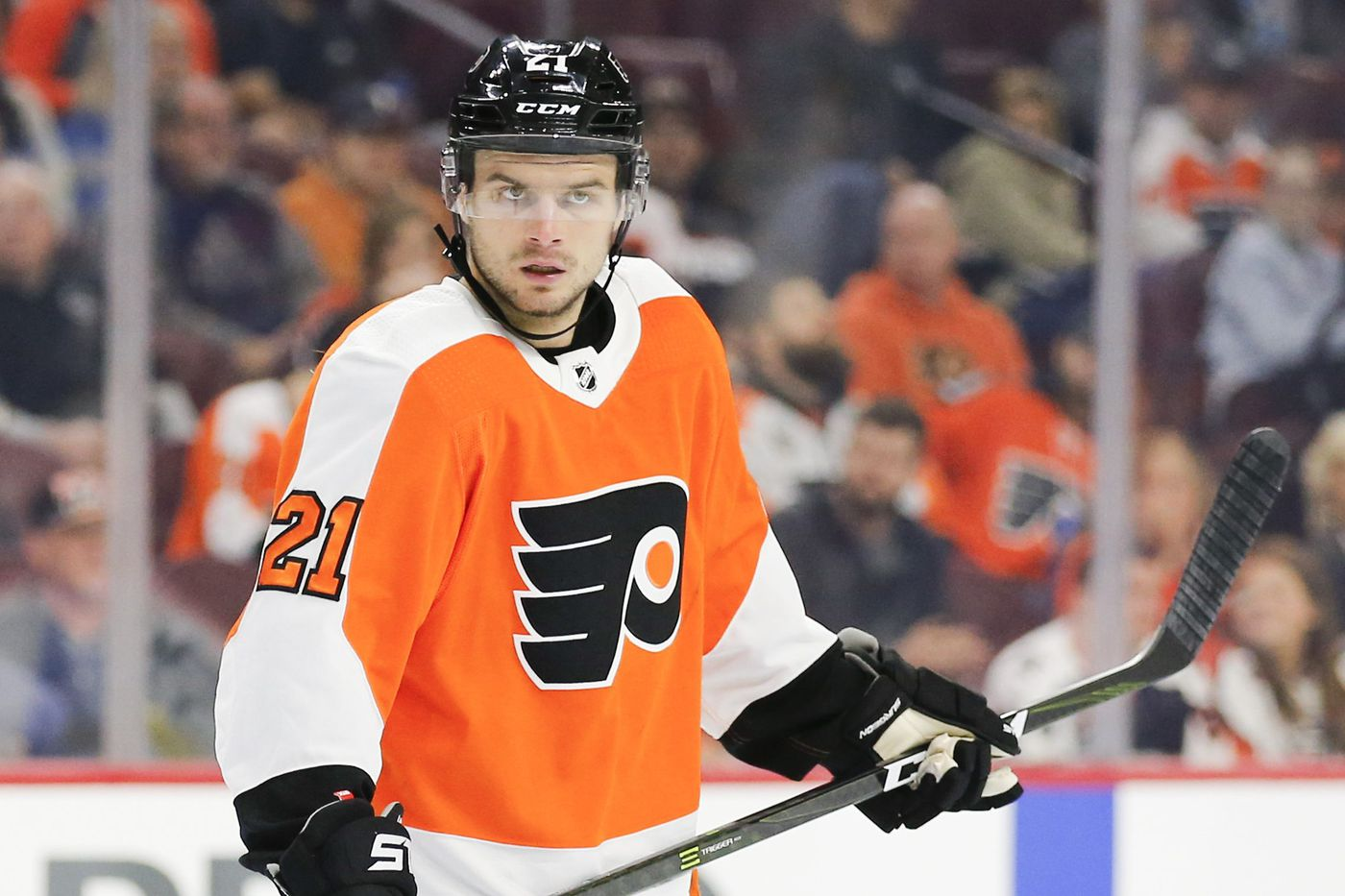 Scott Laughton promoted in Flyers' lineup; Jordan Weal benched