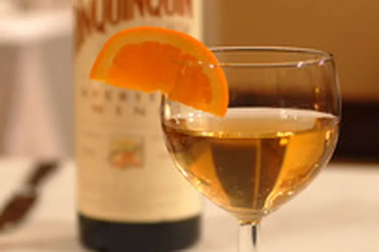 Rinquinquin is a peachy treat of a libation, light, bittersweet, and lovely to look at. At La Bohéme, it takes its place with other classic French aperitifs.