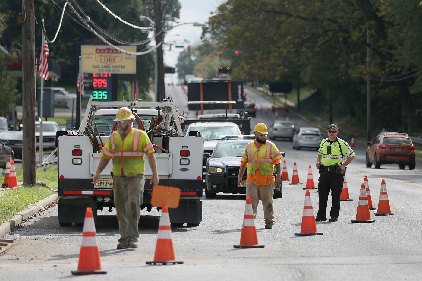 Why police sometimes direct traffic during road construction in Pa. and N.J.