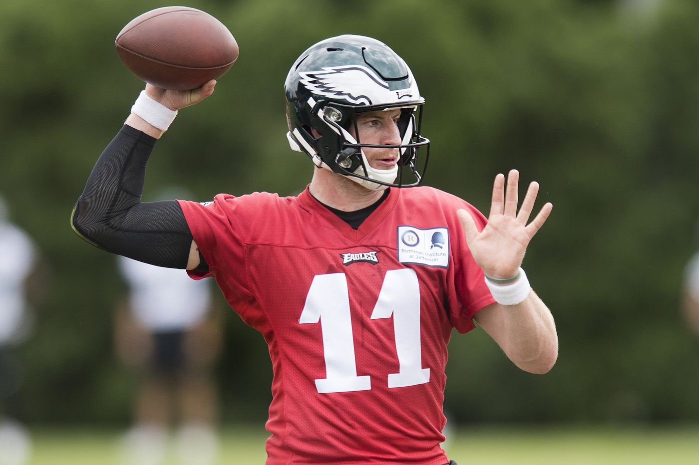 Carson Wentz's velocity is the best indicator of the Eagles QB's remarkable progress