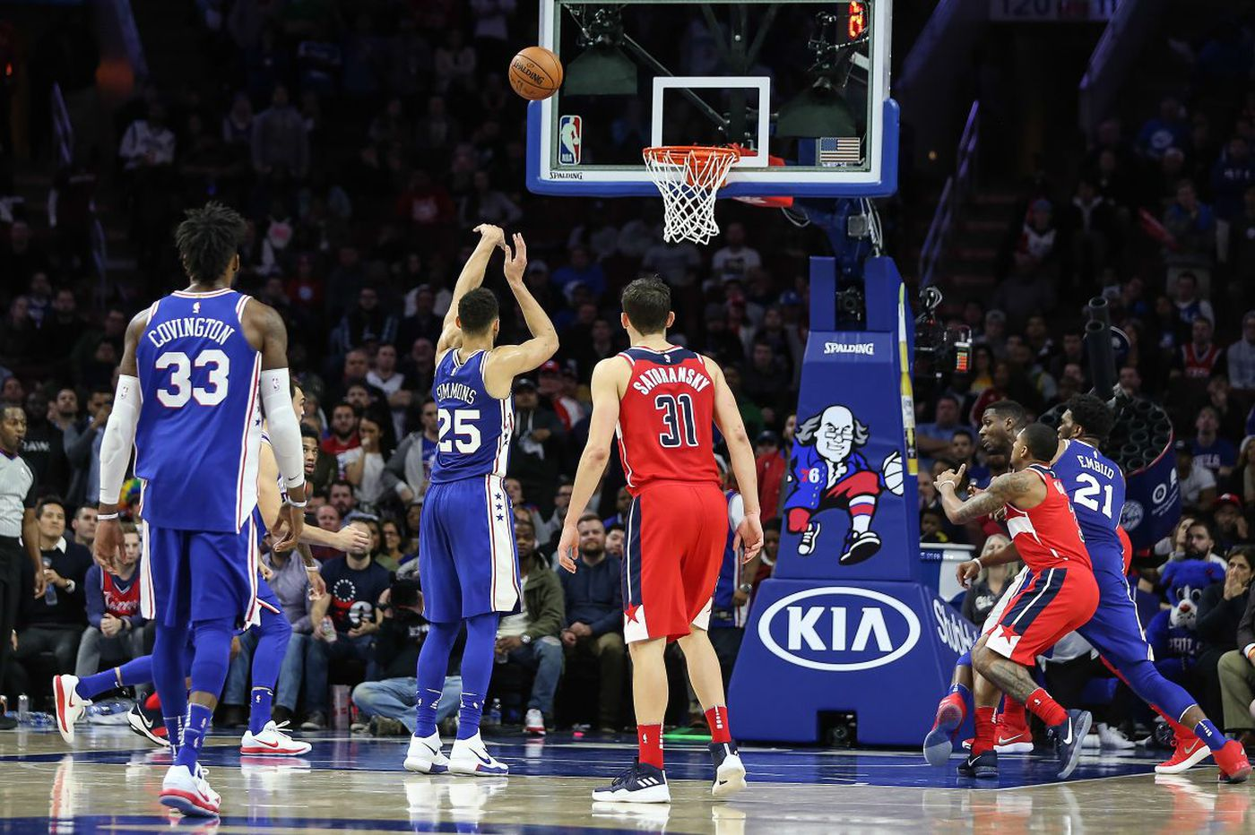 Ben Simmons, Markelle Fultz and the Sixers' shooting slump   David Murphy