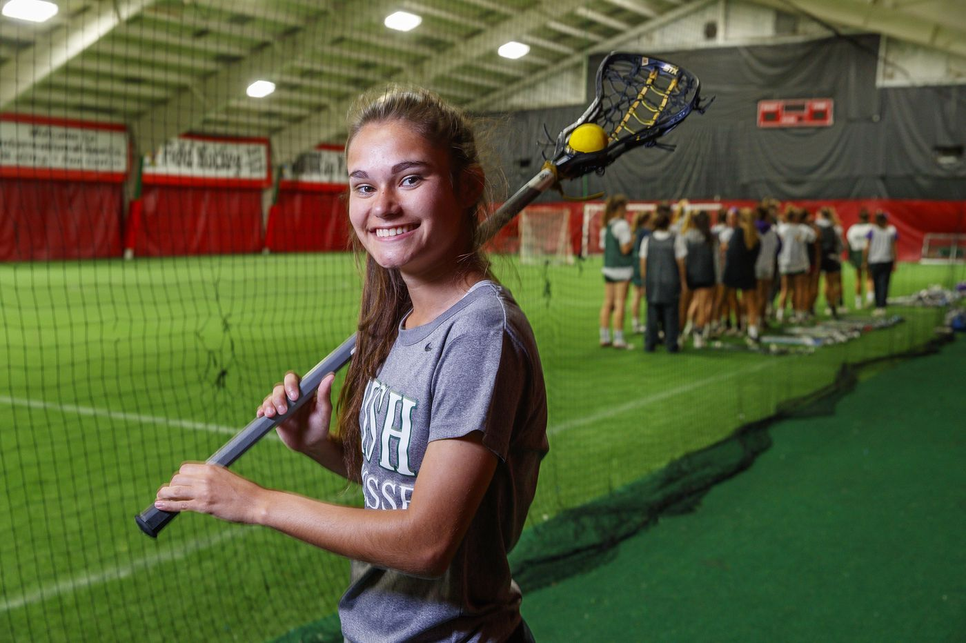 Camden Catholic girls' lacrosse is a family affair for Katie Walsh