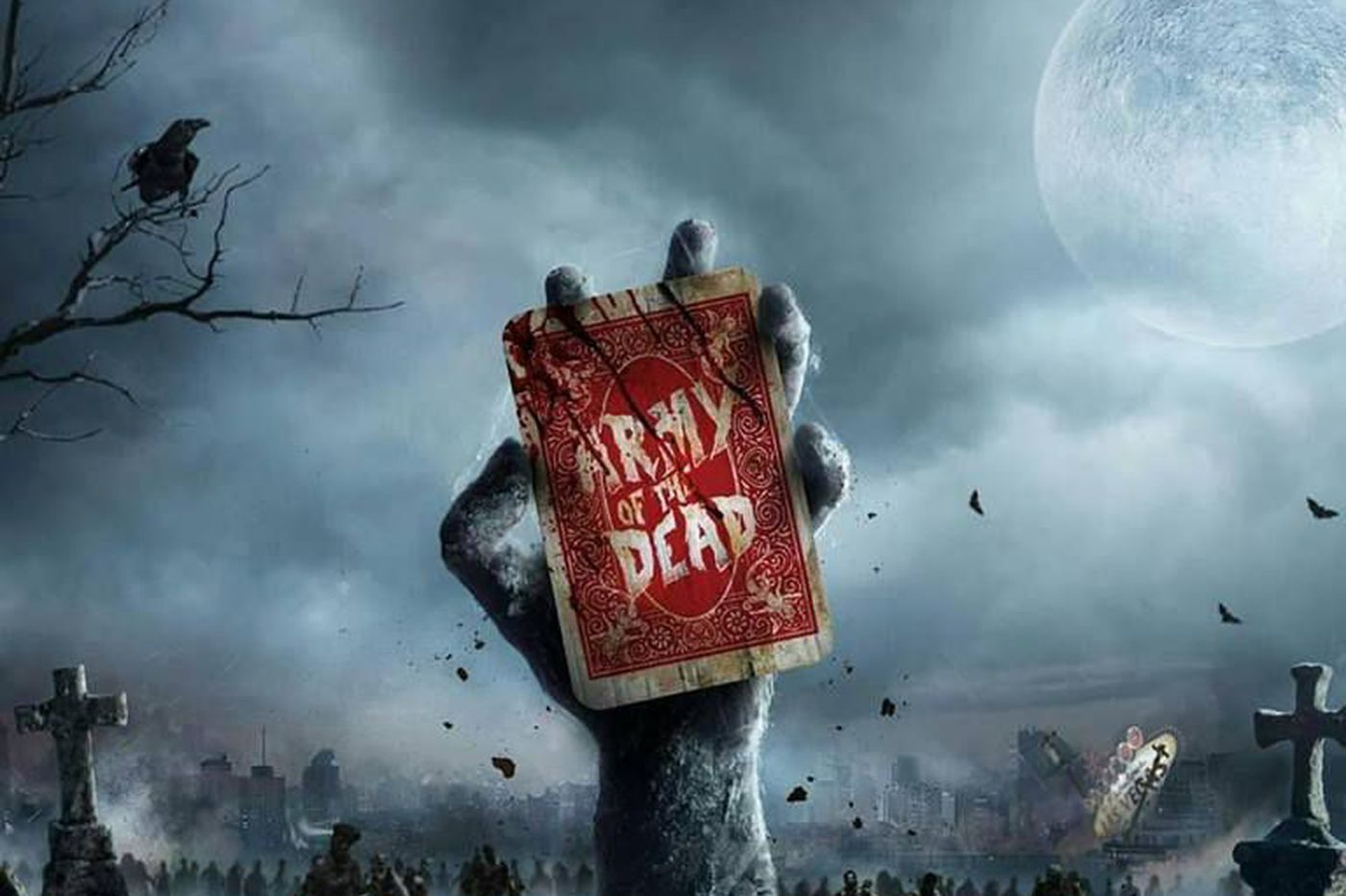 Zack Snyder is looking to cast zombies in Atlantic City for his new Netflix movie, 'Army of the Dead'