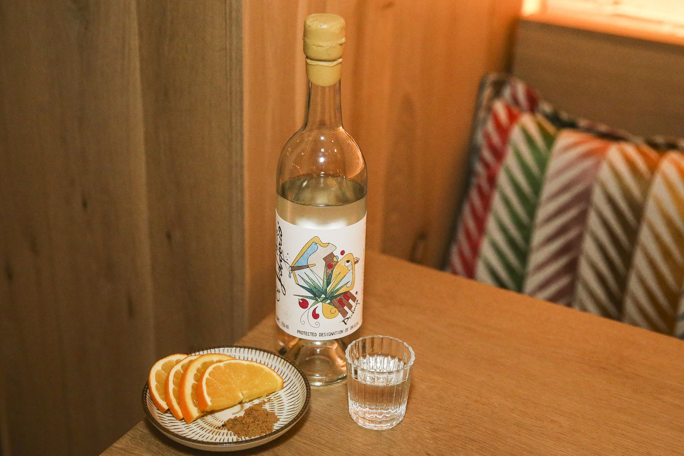 Drink: Of Mexico's many mezcals, pechuga — with turkey — stands out