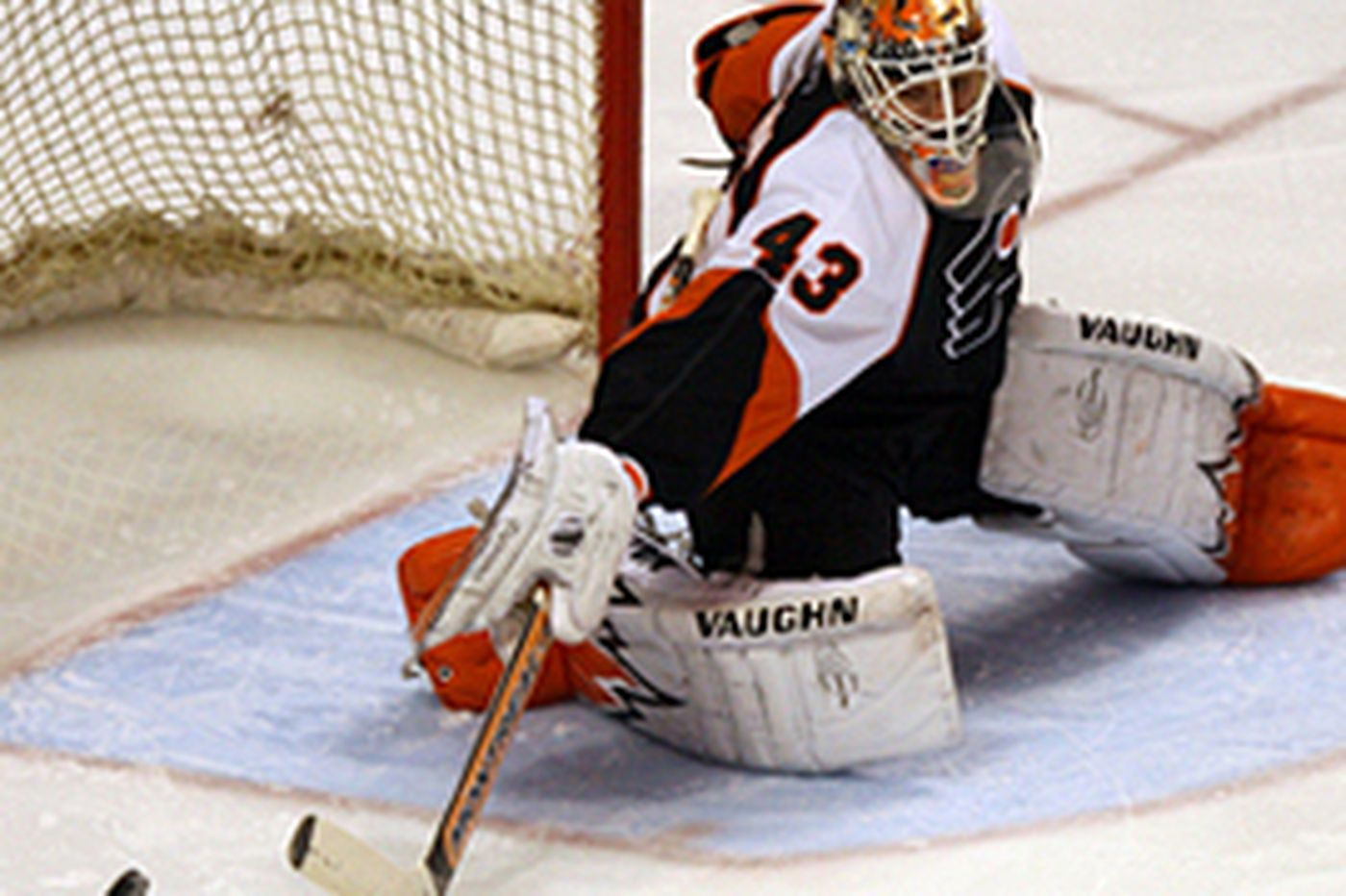Flyers goalie Biron says playoff success depends on him