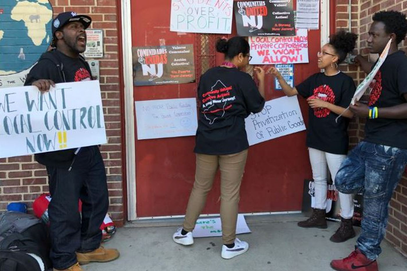 Parents, students protest Camden school district to demand adequate funding for books and supplies