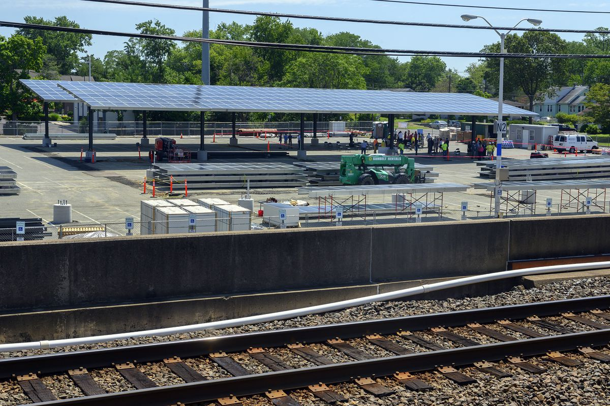 DRPA breaks ground on solar project to power PATCO trains