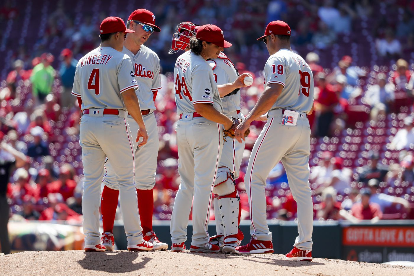 Phillies suffer 'frustrating' loss to Reds, 4-3, on 11th-inning home run