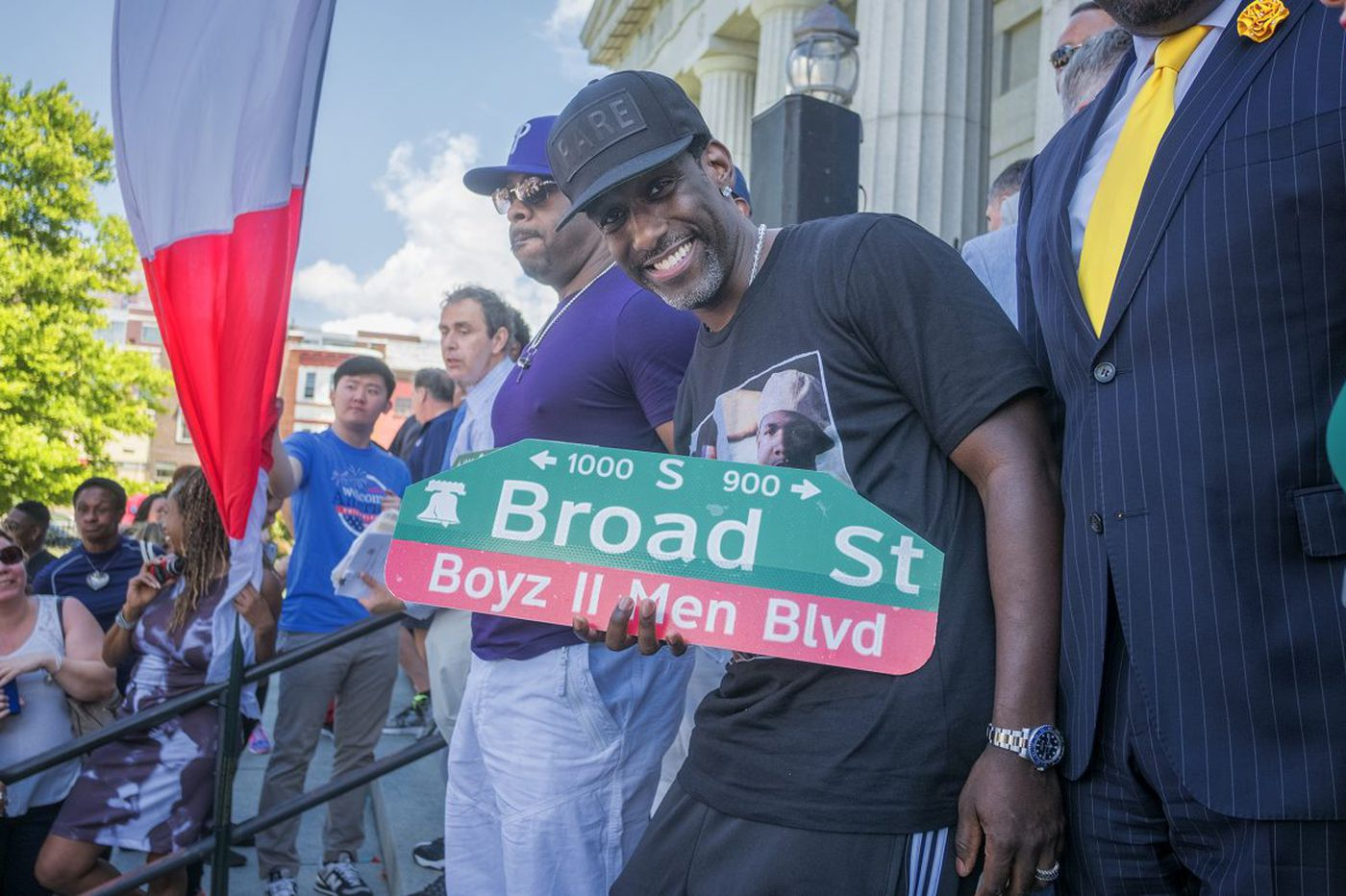 Another honor for Boyz II Men: Philly street with their name