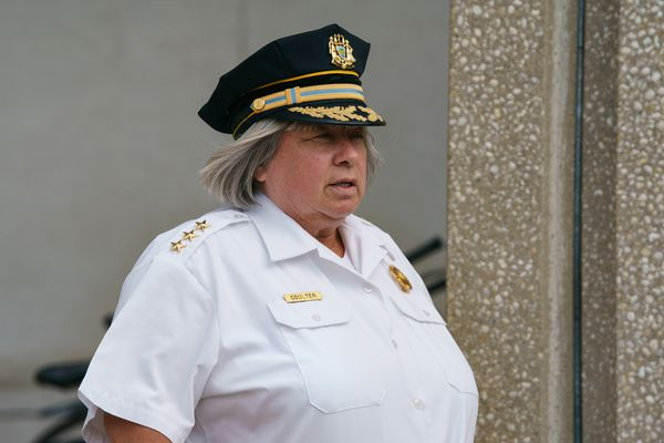 Christine Coulter, Philly's new acting police commissioner, is the first woman to hold the position