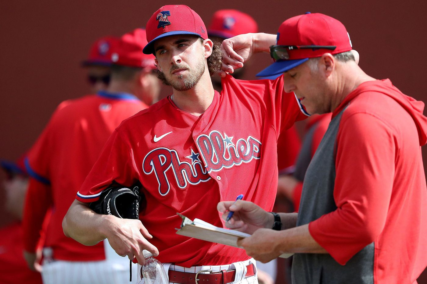 Phillies ace Aaron Nola confident changeup command will return in 2020 | Bob Brookover