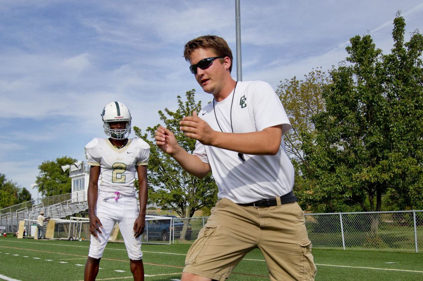 Fired Camden Catholic football coach Nick Strom says he was asked to put more white players on field