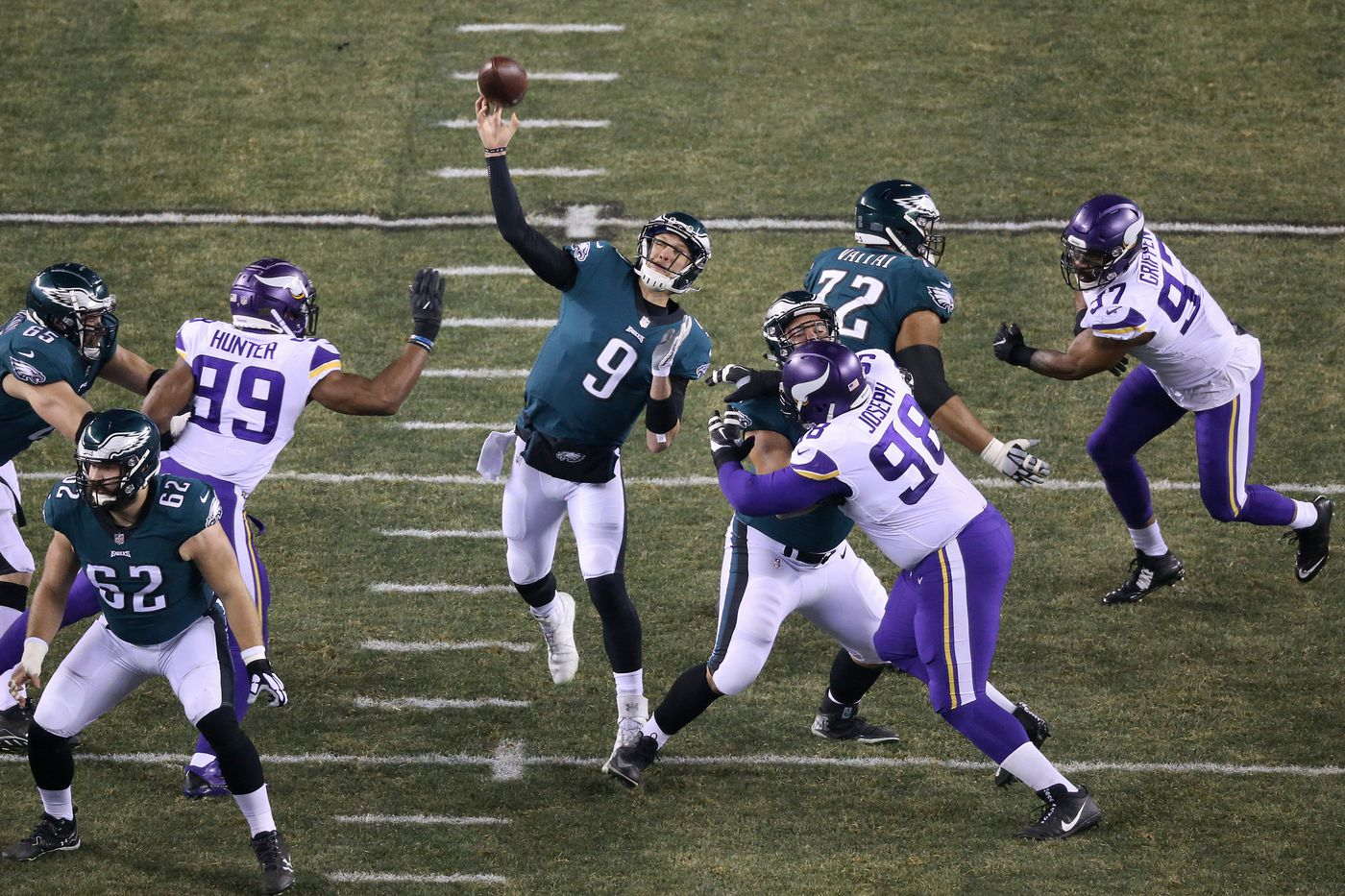newest 8690c 2d734 From day one, I knew Nick Foles was the Eagles' man ...