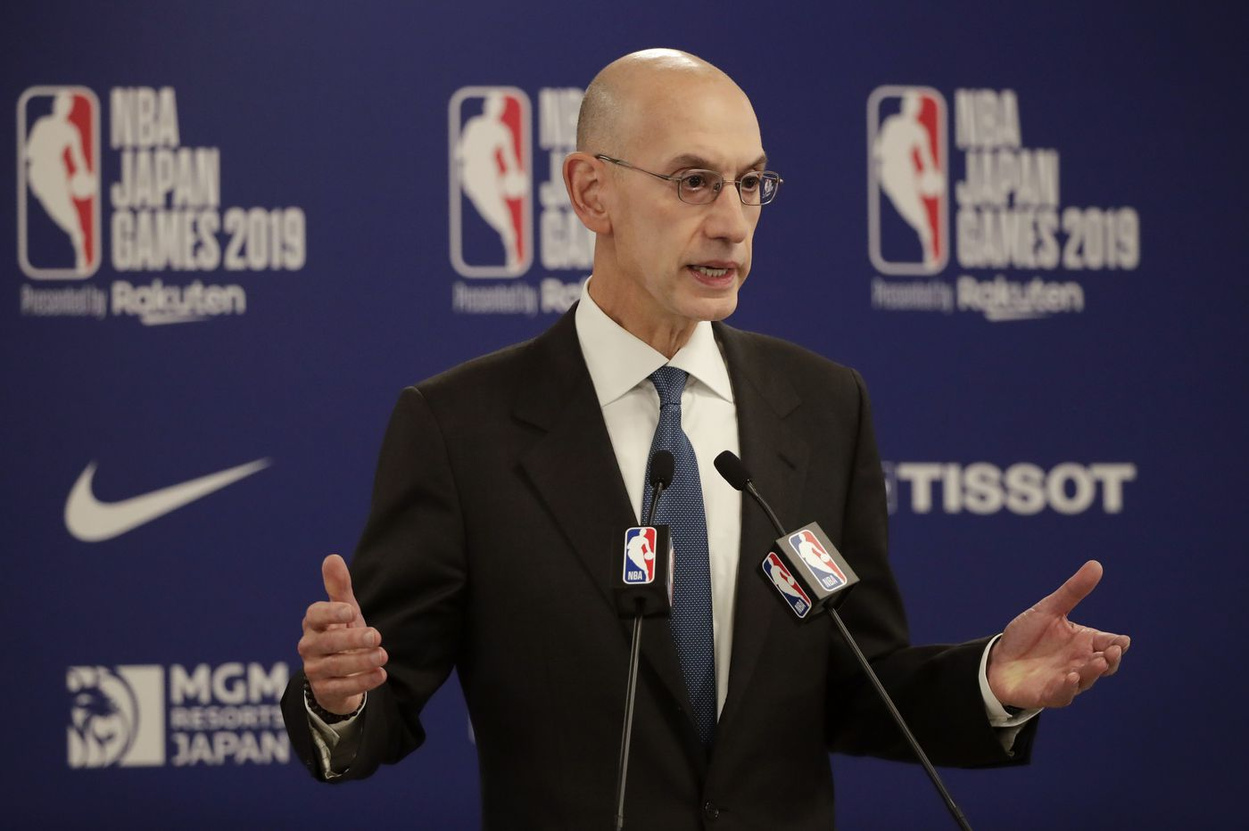 NBA Commissioner says players, executives are free to comment on China