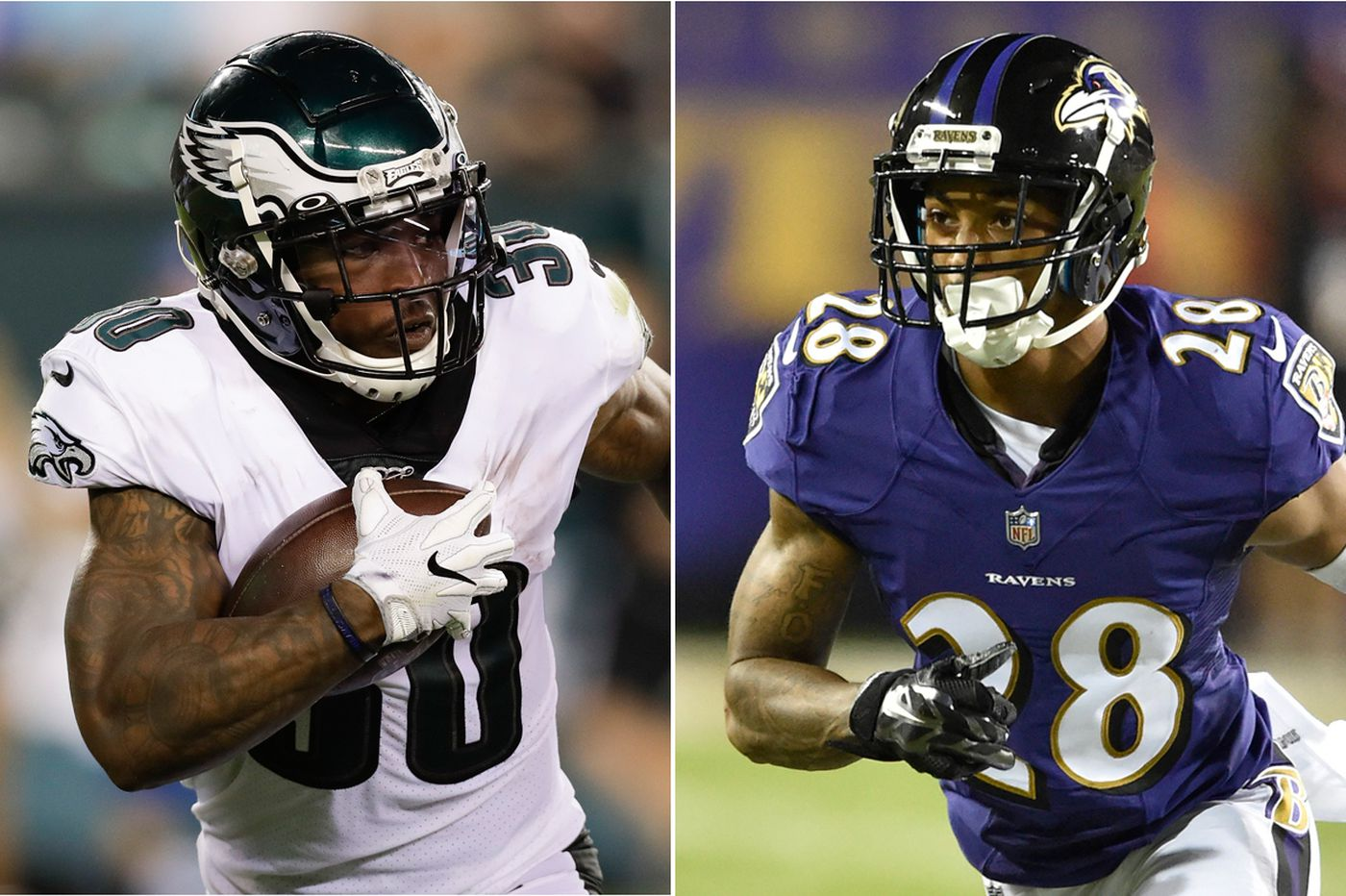 Eagles' Corey Clement and Ravens' Anthony Averett share South Jersey bond that endures