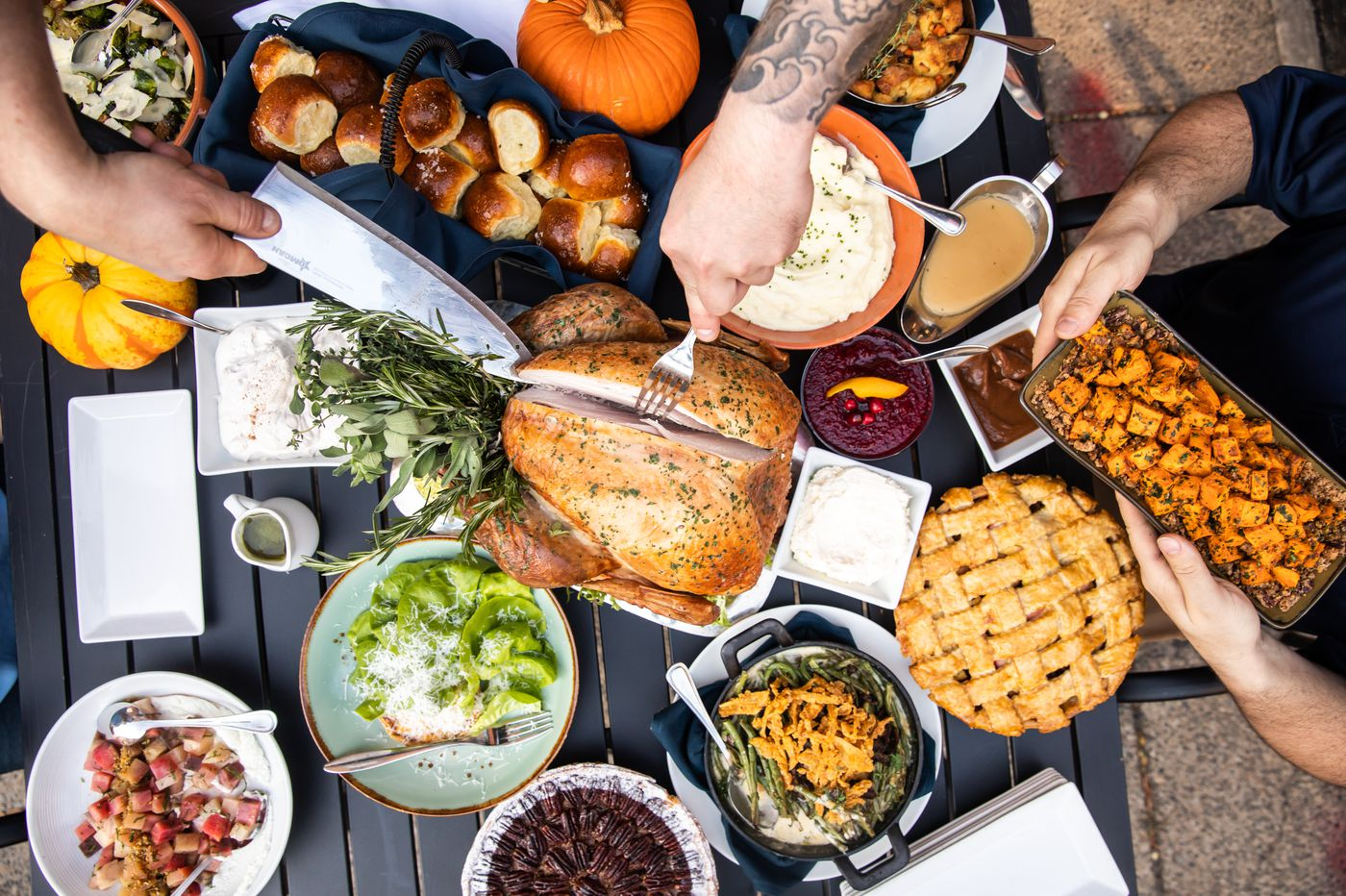 Don't want to cook Thanksgiving dinner? No problem.