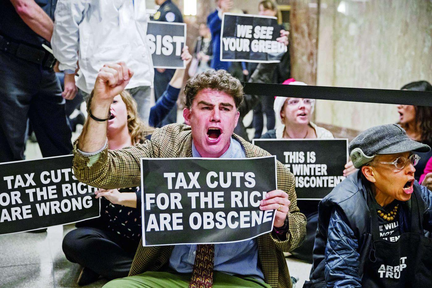 Panel sends tax plan to full Senate