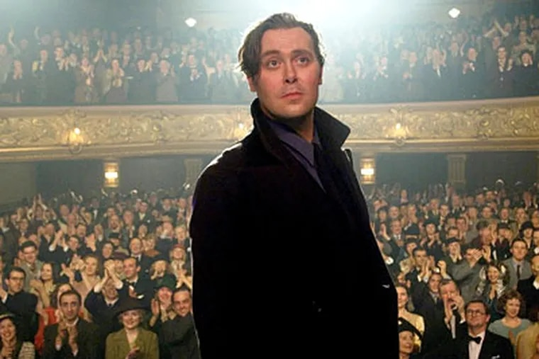 """English stage actor Christian McKay stars as the legendary director in """"Me and Orson Welles,"""" his first feature film. McKay also portrayed Welles in a one-man show, for which he immersed himself in all things Wellesian."""