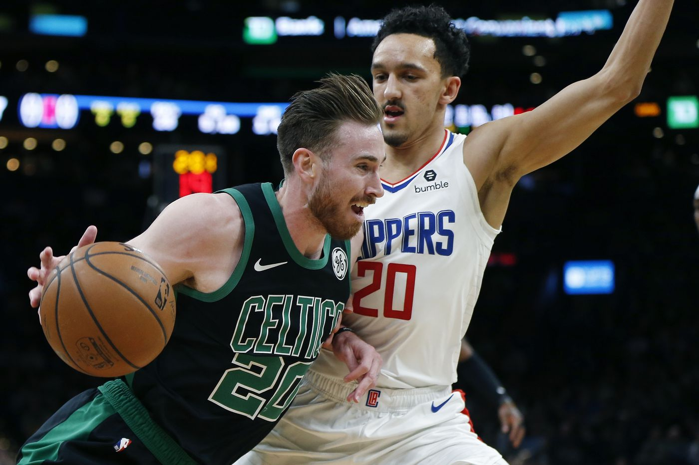 new product 36db4 e5556 Landry Shamet helps spark Clippers' 28-point comeback to ...