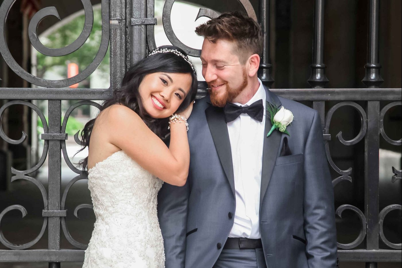 Philadelphia weddings: Erica Chen and Jeff Gibbard