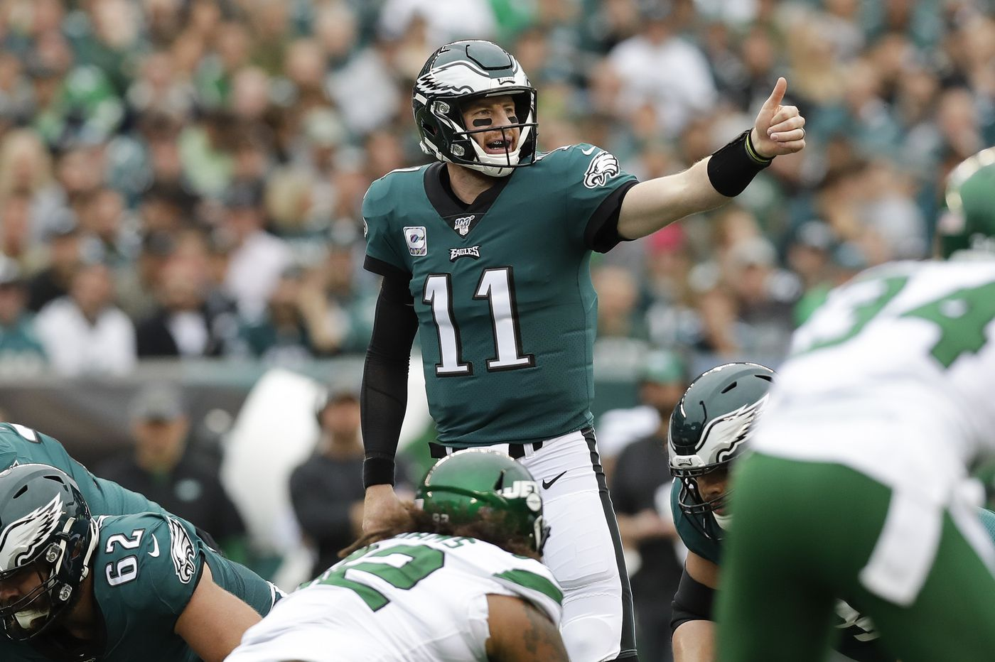 Is a steady, mature Carson Wentz what the Eagles need right now? | Bob Ford