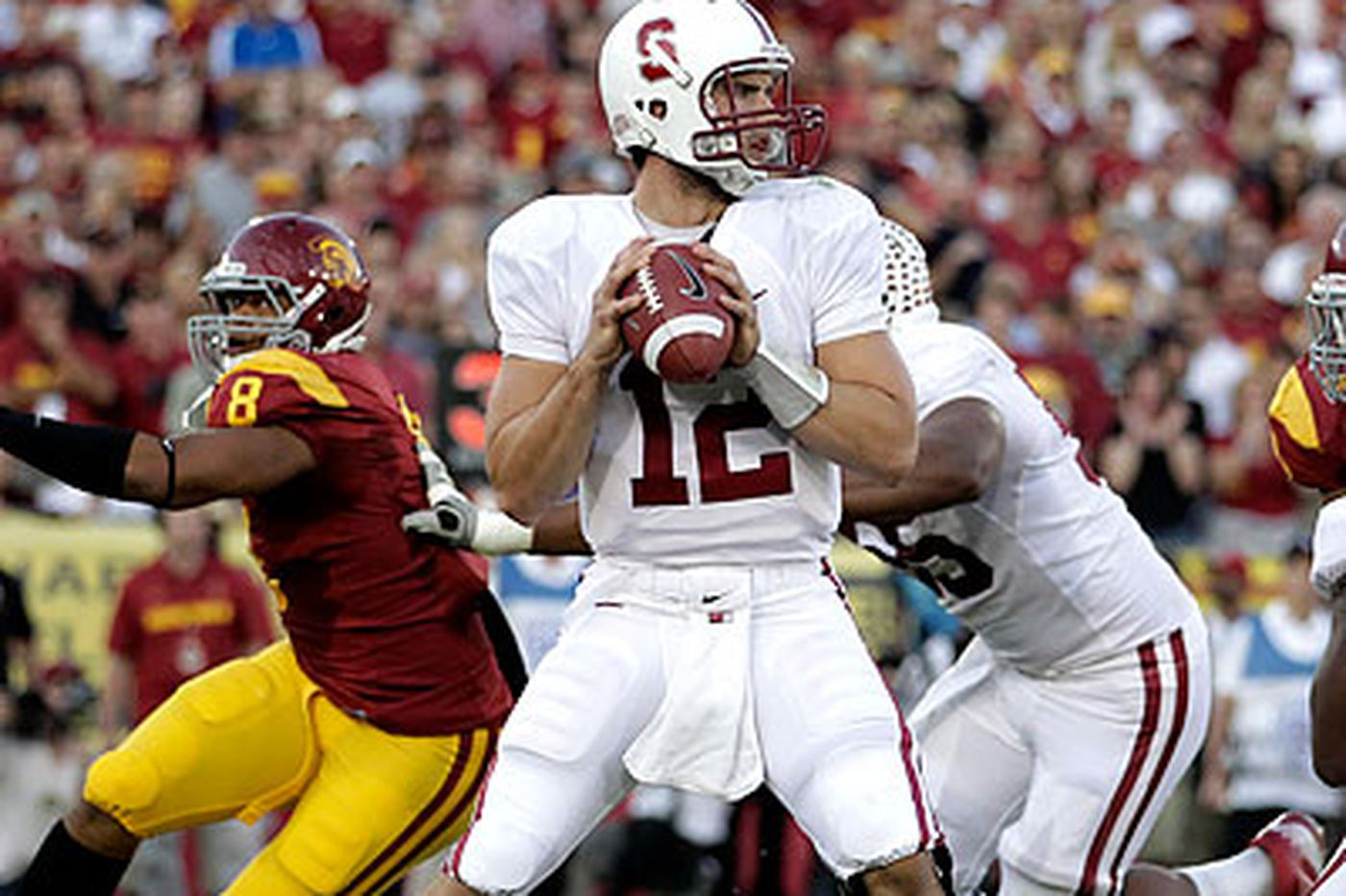 STANFORD MOVES TO FOURTH IN BCS
