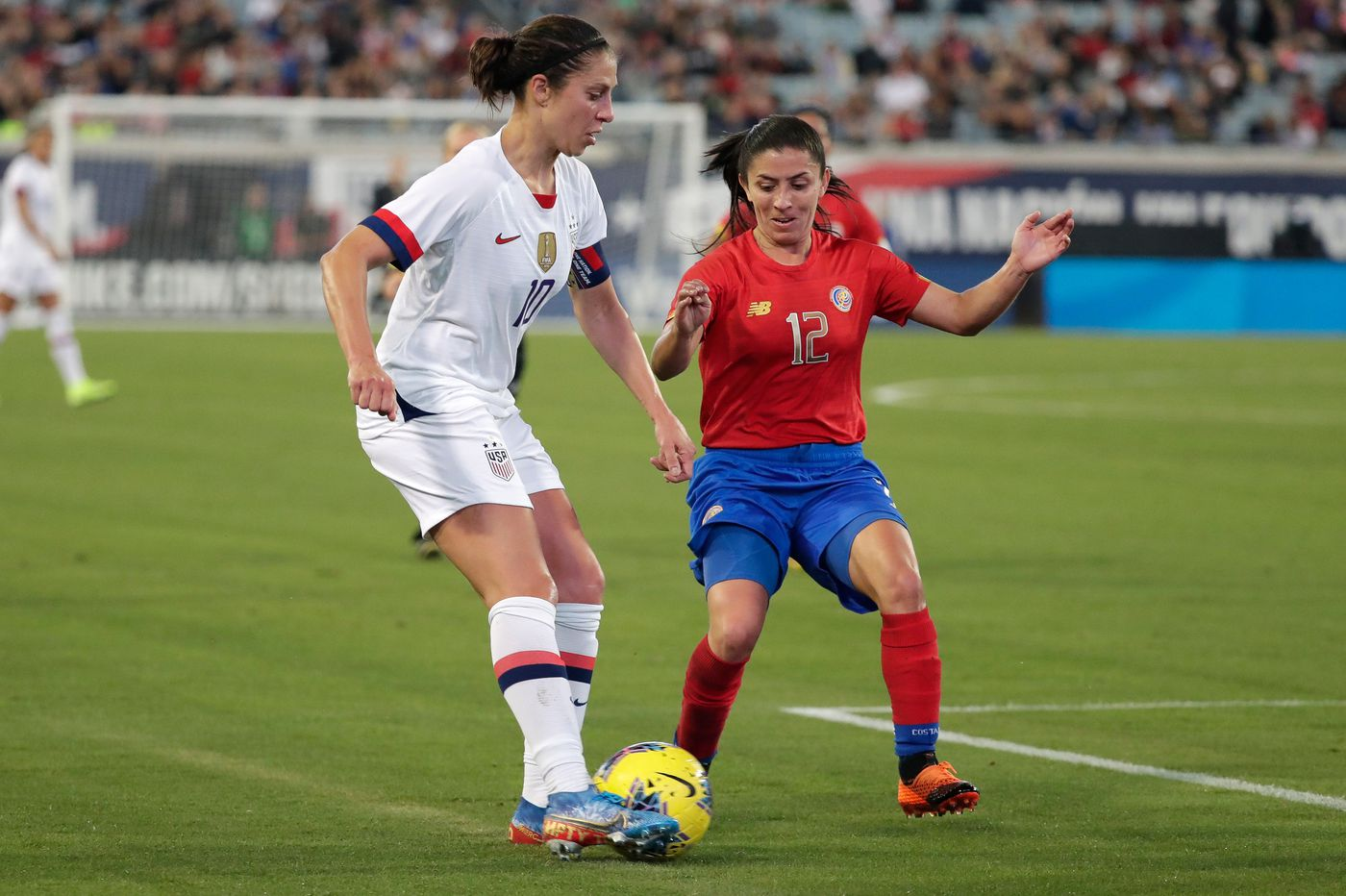 USWNT beats Costa Rica 6-0 in last game of 2019