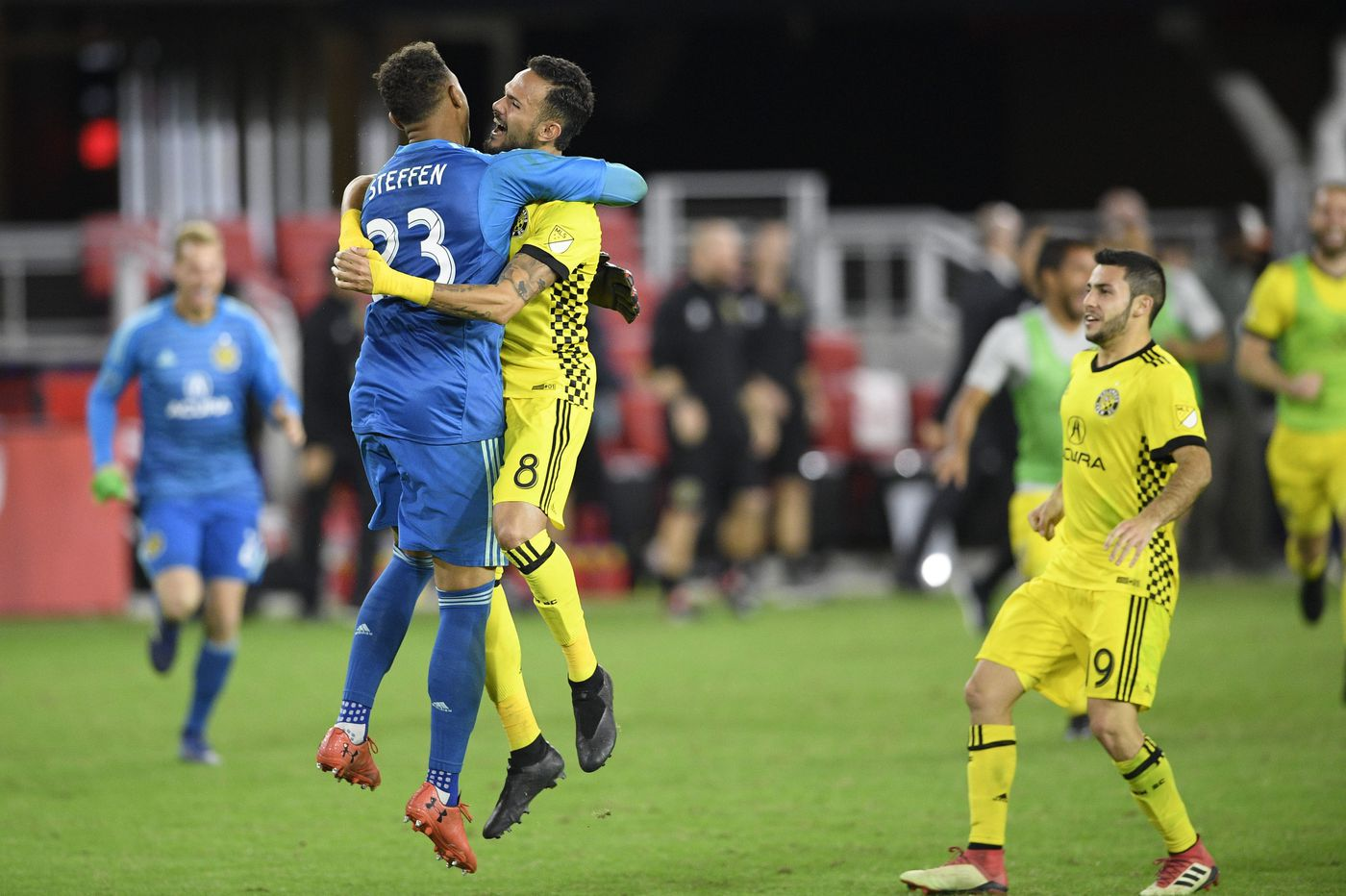 Zack Steffen's MLS playoffs heroics remind everyone why the Coatesville native is a star goalkeeper