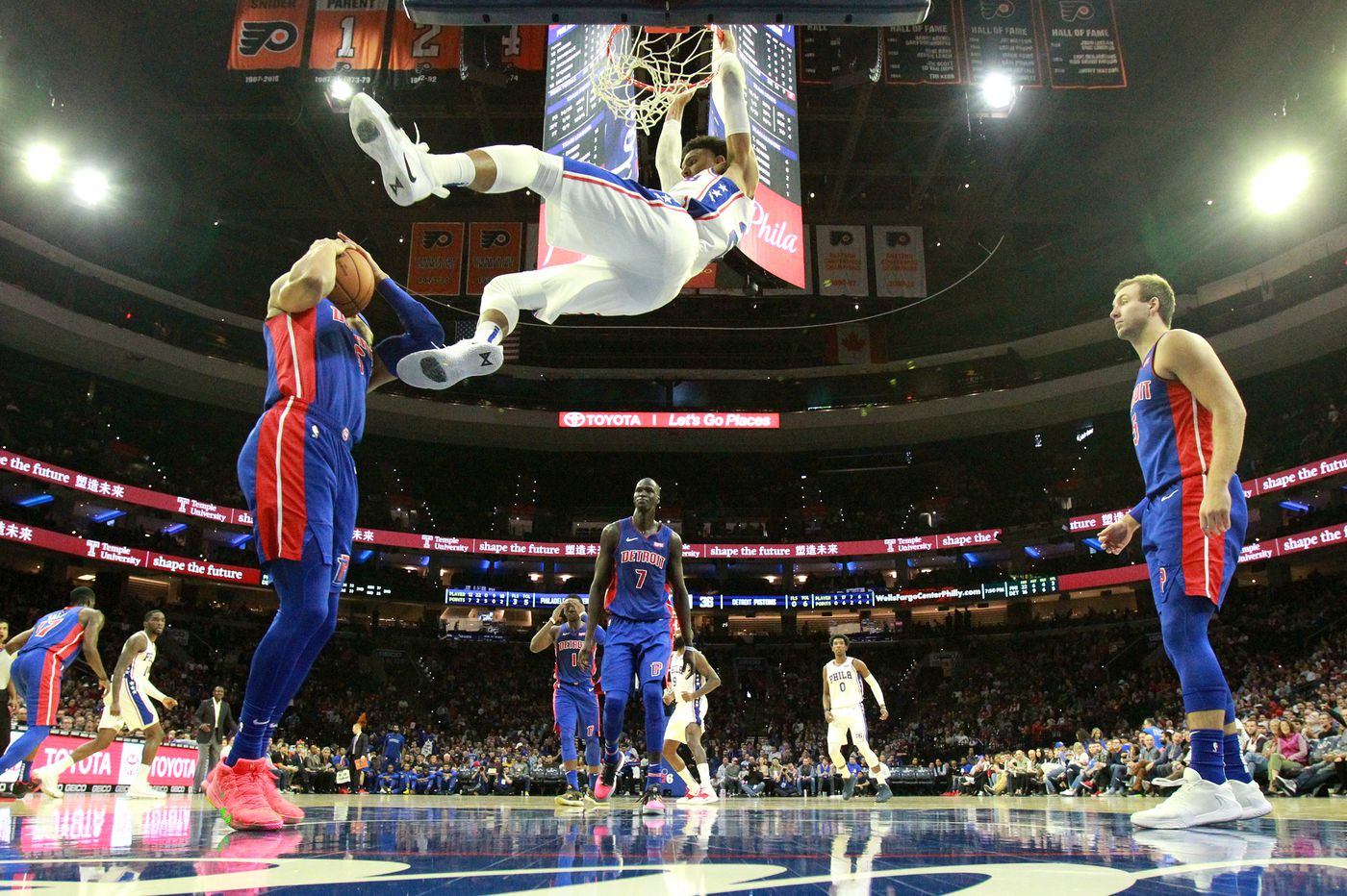 Sixers' Matisse Thybulle relishes first start