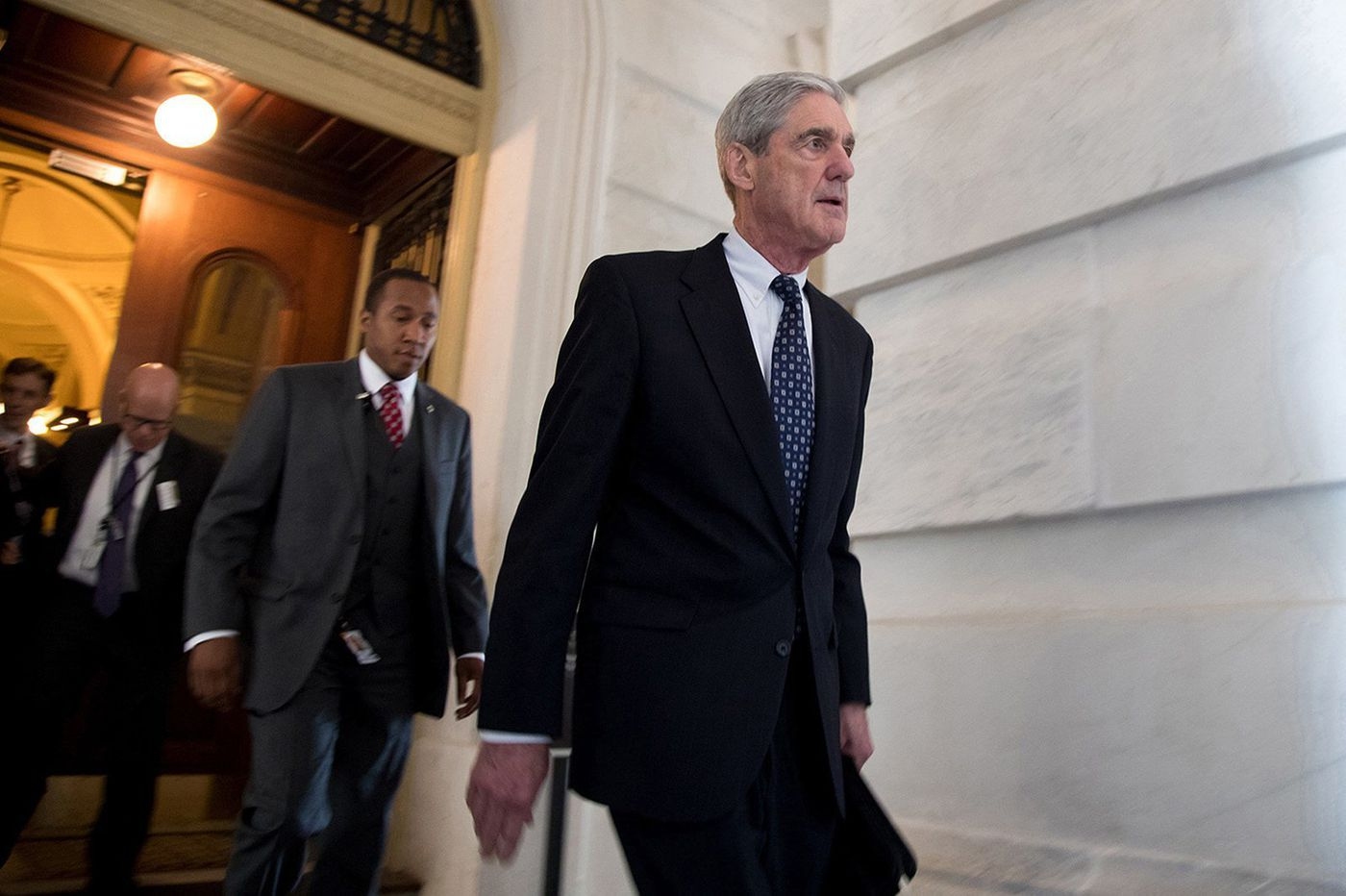 Mueller report sent to attorney general, signaling his Russia investigation has ended