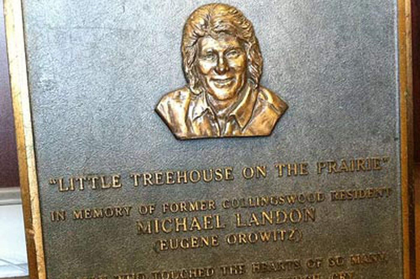 Kevin Riordan: Landon plaque sidelined; accounts vary