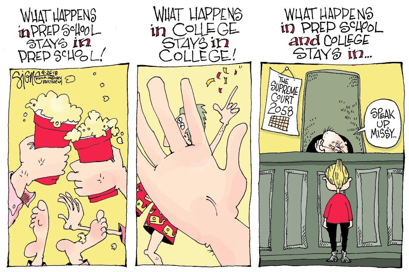 Daily Signe Cartoon 09/26/18