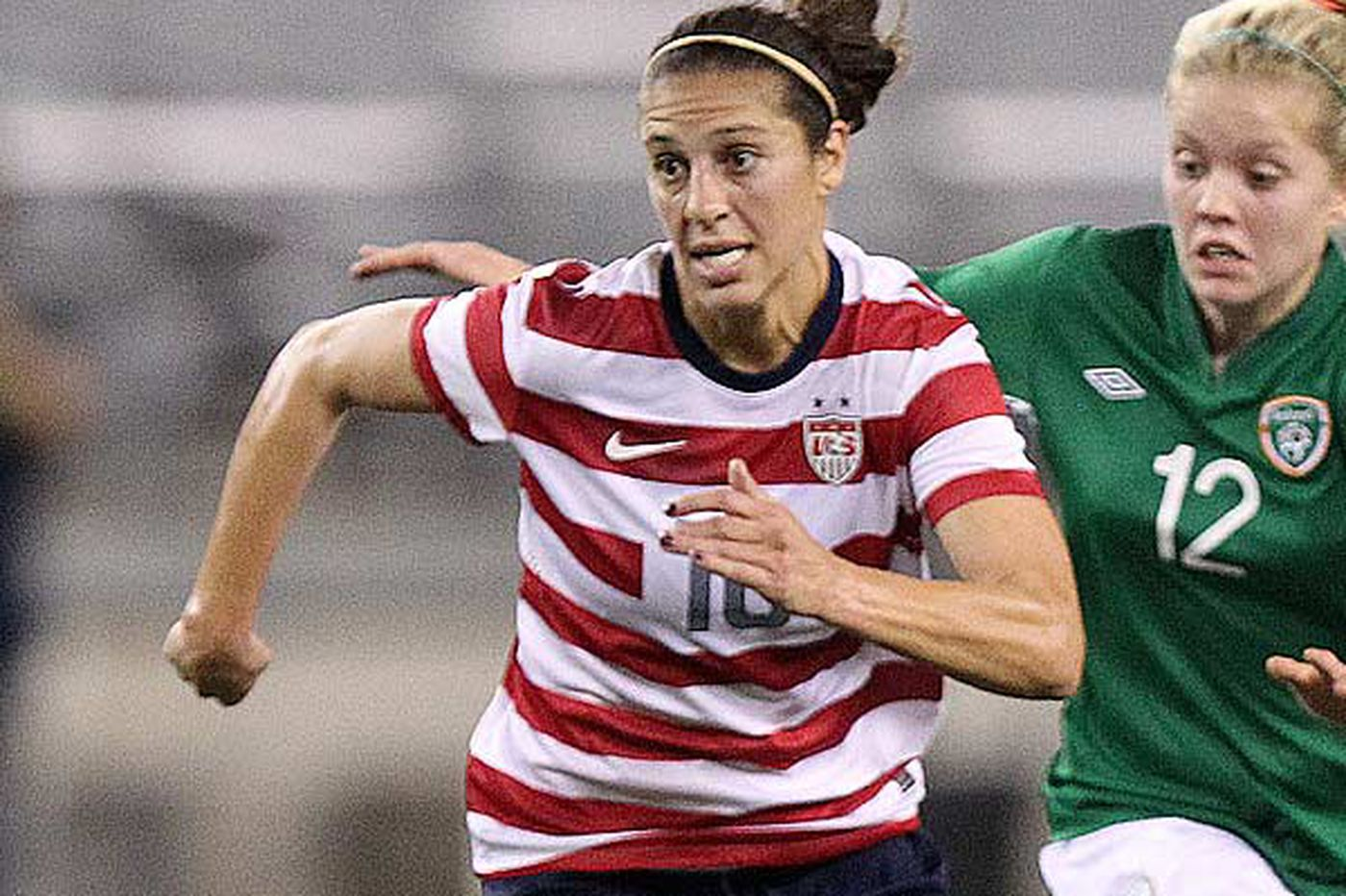 Delran's Olympic star Carli Lloyd cleared to join women's soccer league Flash