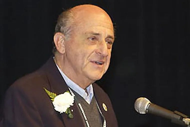 """Harvey Dorfman wrote """"The Mental ABC's of Pitching"""". He died Monday at the age of 75. (Photo courtesy of The College of Brockport)"""