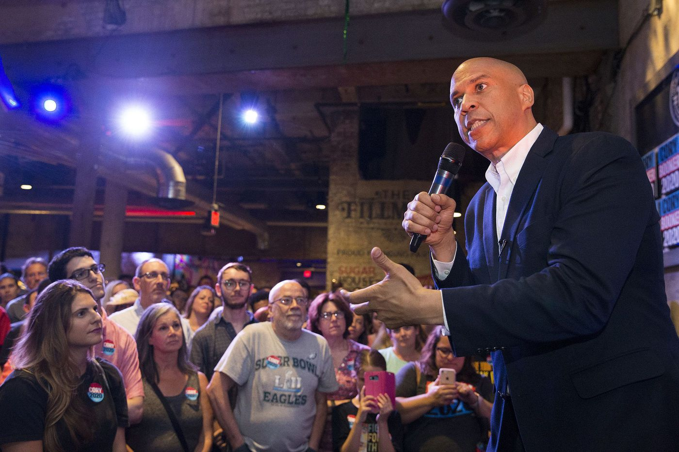 Cory Booker defends ties to George Norcross and county exec whose jail houses ICE detainees