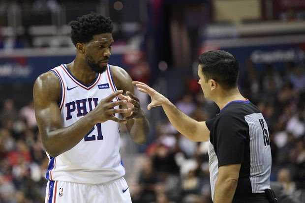 Sixers' Joel Embiid questionable for game against Thunder with back tightness