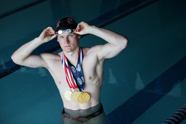 Conestoga's Brendan Burns has a competitive fire that made him a state swimming champ — several times