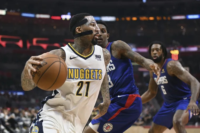 Wilson Chandler joined the Nuggets after playing for the Knicks.